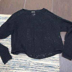 Black billabong sweater
